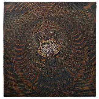 Psychedelic Atom Napkin