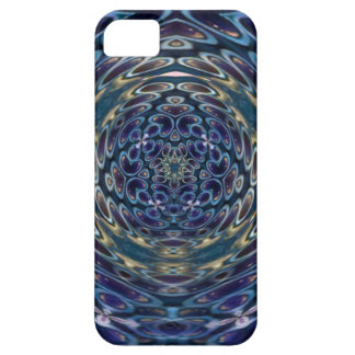 Psychedelic Atom Portal Pattern Case For The iPhone 5