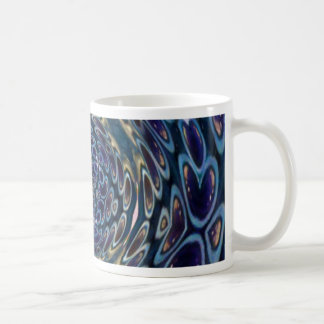 Psychedelic Atom Portal Pattern Coffee Mug