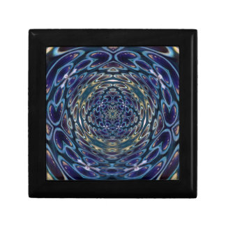 Psychedelic Atom Portal Pattern Gift Box