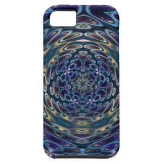 Psychedelic Atom Portal Pattern iPhone 5 Cover