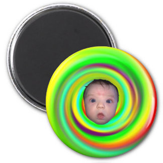 Psychedelic Baby Magnet