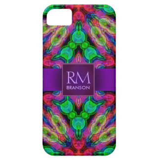 Psychedelic Batik Monogram Case-Mate™ Case For The iPhone 5