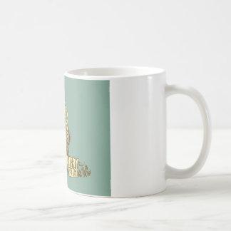 psychedelic bear angry beast coffee mug