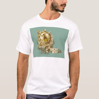 psychedelic bear angry beast T-Shirt