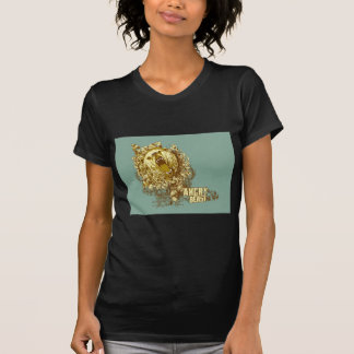psychedelic bear angry beast tshirt
