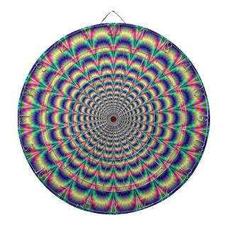Psychedelic Beat Dartboard