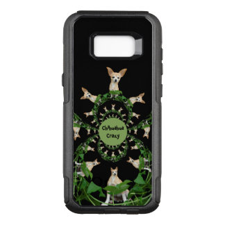 Psychedelic Beige And White Funny Chihuahua OtterBox Commuter Samsung Galaxy S8+ Case