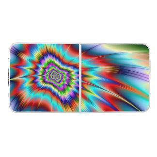 Psychedelic Blast Beer Pong Table