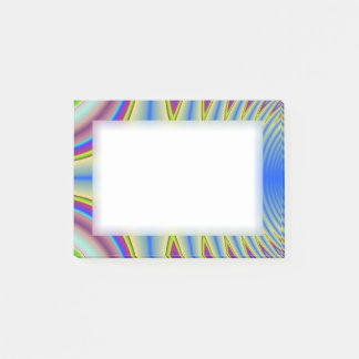 Psychedelic Blue Post-it® Notes