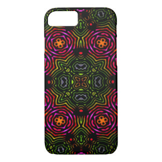 Psychedelic Brain Pattern iPhone 7 Case