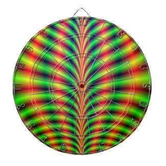 Psychedelic Breastplate Dartboard