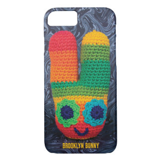 Psychedelic Brooklyn Bunny iPhone 8/7 Case