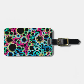 Psychedelic Bubbles Bag Tag