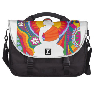 Psychedelic Buddha Laptop Commuter Bag