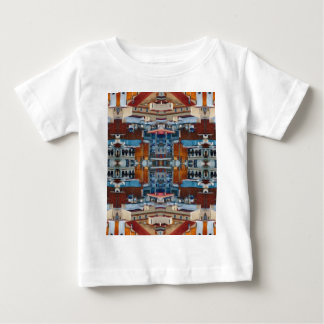 Psychedelic Building Pattern Baby T-Shirt