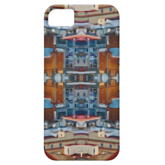 Psychedelic Building Pattern Case For The iPhone 5