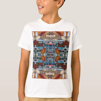 Psychedelic Building Pattern T-Shirt