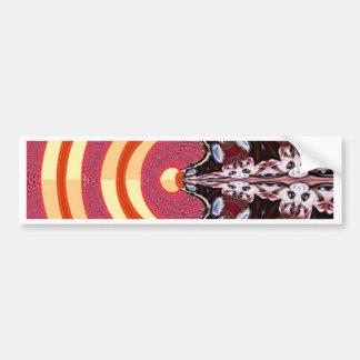 Psychedelic Bumper Sticker