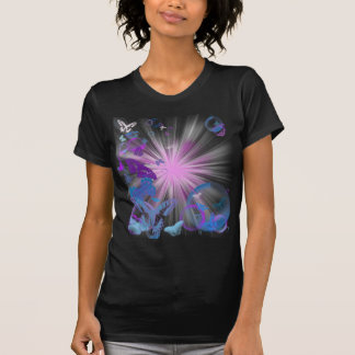 psychedelic butterflies tshirts
