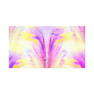 Psychedelic Butterfly Abstract Design Canvas Print