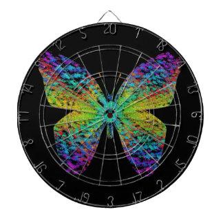 Psychedelic butterfly. dartboard