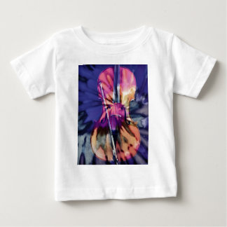 Psychedelic cello baby T-Shirt