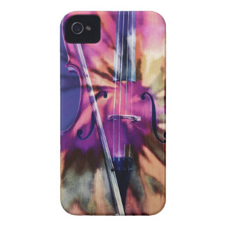 Psychedelic cello Case-Mate iPhone 4 cases