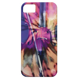 Psychedelic cello iPhone 5 case