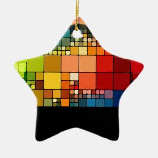 Psychedelic Ceramic Ornament