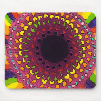 Psychedelic Chakras Mouse Pad