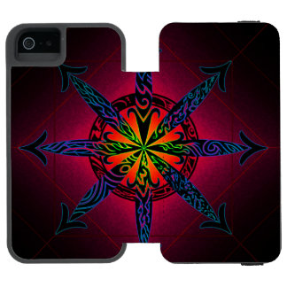 Psychedelic Chaos - Choose Your Color! Incipio Watson™ iPhone 5 Wallet Case