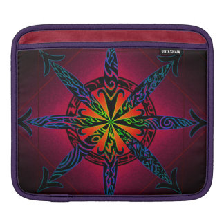 Psychedelic Chaos - Choose Your Color! iPad Sleeve