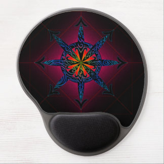 Psychedelic Chaos Gel Mouse Pad