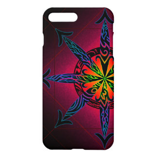 Psychedelic Chaos Glossy iPhone 8 Plus/7 Plus Case