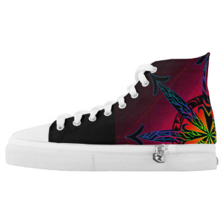 Psychedelic Chaos High Tops