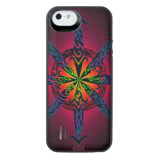 Psychedelic Chaos iPhone SE/5/5s Battery Case