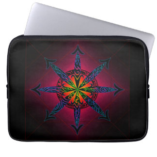 Psychedelic Chaos Laptop Sleeve
