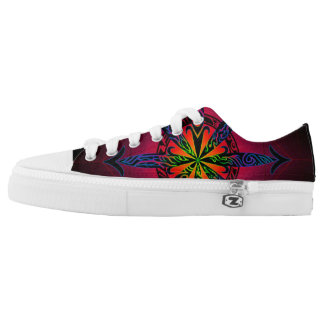 Psychedelic Chaos Low-Top Sneakers