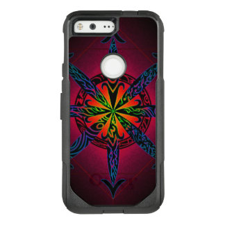 Psychedelic Chaos OtterBox Commuter Google Pixel Case