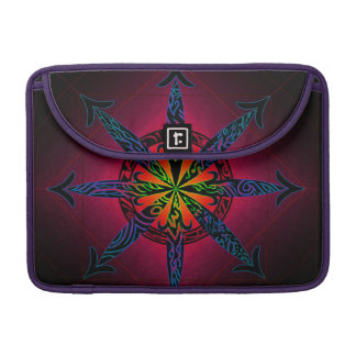 Psychedelic Chaos Sleeve For MacBooks