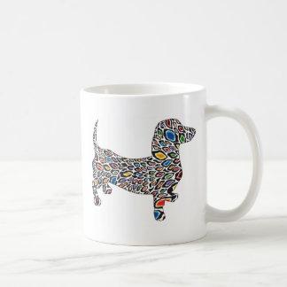 Psychedelic-Cheetah-Doxie Coffee Mug