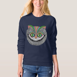Psychedelic Cheshire Cat Sweatshirt