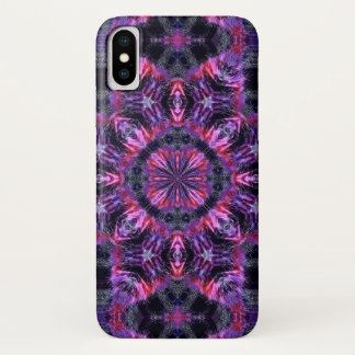 Psychedelic Cheshire Cat Watercolor Mandala Case