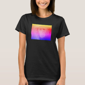 Psychedelic Chimp Shirt Black Women