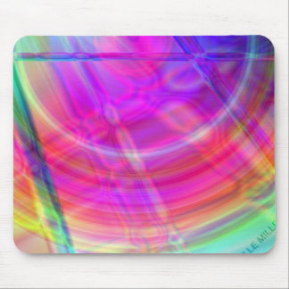 Psychedelic Circle Mousepad
