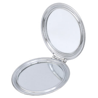 Psychedelic Circles Compact Mirrors