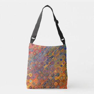 Psychedelic Circles Crossbody Bag