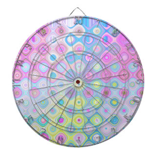 Psychedelic Circles Dartboard