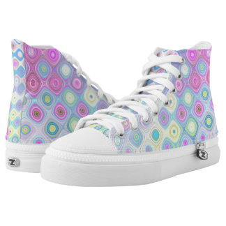 Psychedelic Circles High Tops